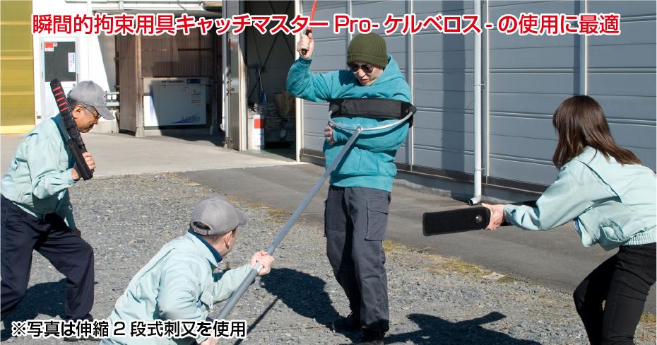 瞬間的拘束用具キャッチャーProケルベロスの使用に最適
